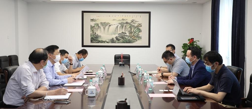 自治区发改委副主任黄文川到联合会调研