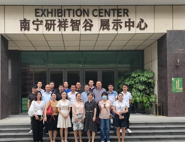 联合会、冷链协会组织会员到研祥智谷、中新物流园、万纬冷链参观考察